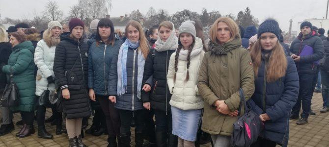 Учасники євроклубу «Вікно в Європу» підтримала полонених моряків