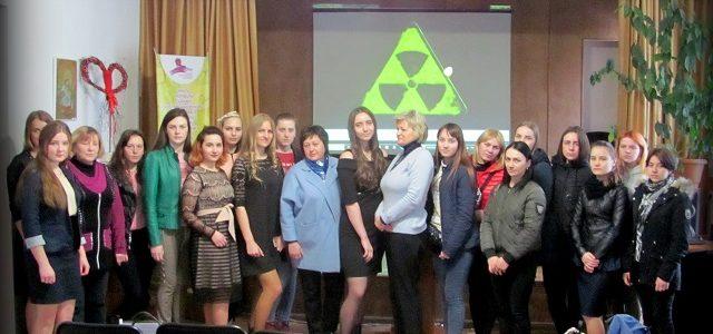 Засідання вечірньої гімназії для дівчат «Берегиня»  проведено у формі тематичного вечора пам'яті  «Чорнобильська катастрофа: хроніка подій»