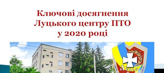 Ключові досягнення Луцького центру ПТО у 2020 році